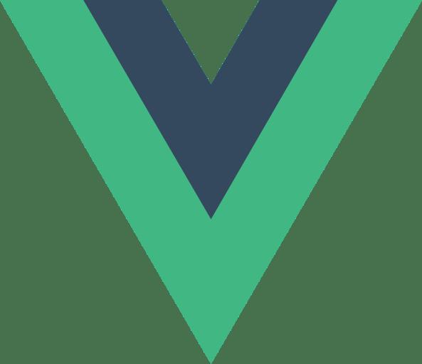 Vue.JS logo.