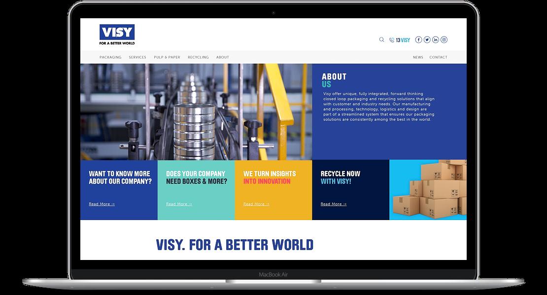 Visy Home Page