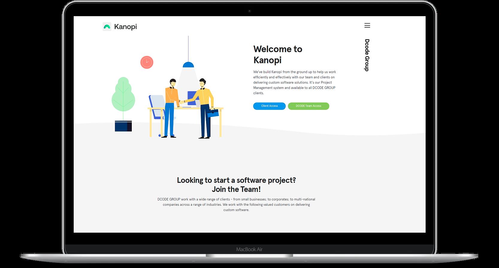 Kanopi demo product image.